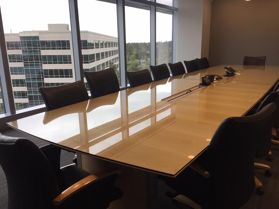 Custom Table Top Glass Free Measuring And Installation Just - Custom glass conference table